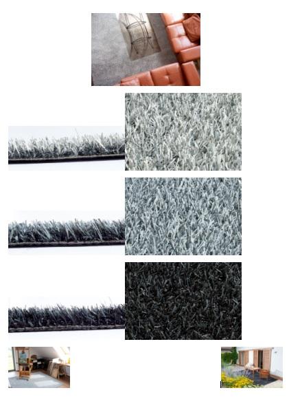 gazon artificiel couleur gris
