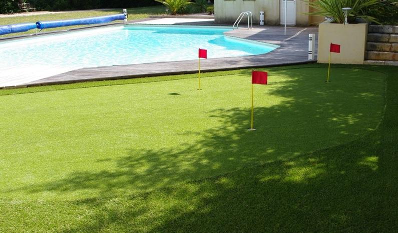 gazon artificiel golf