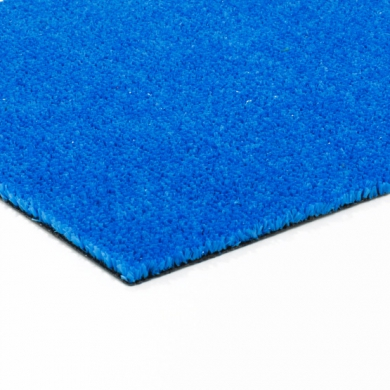 gazon synthetique bleu