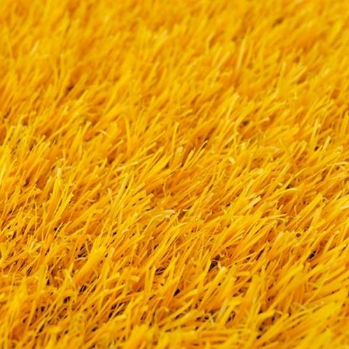 gazon synthetique jaune