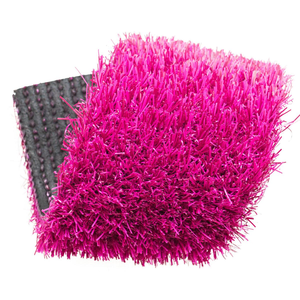 gazon synthetique rose