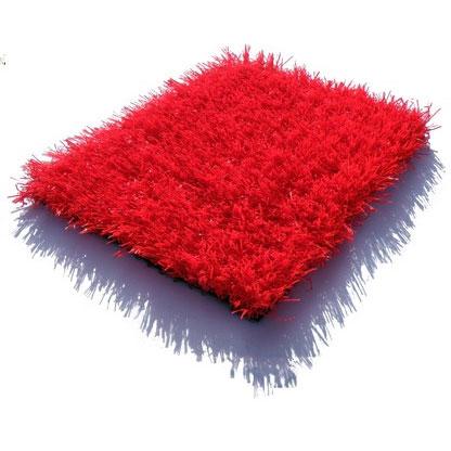 gazon synthetique rouge