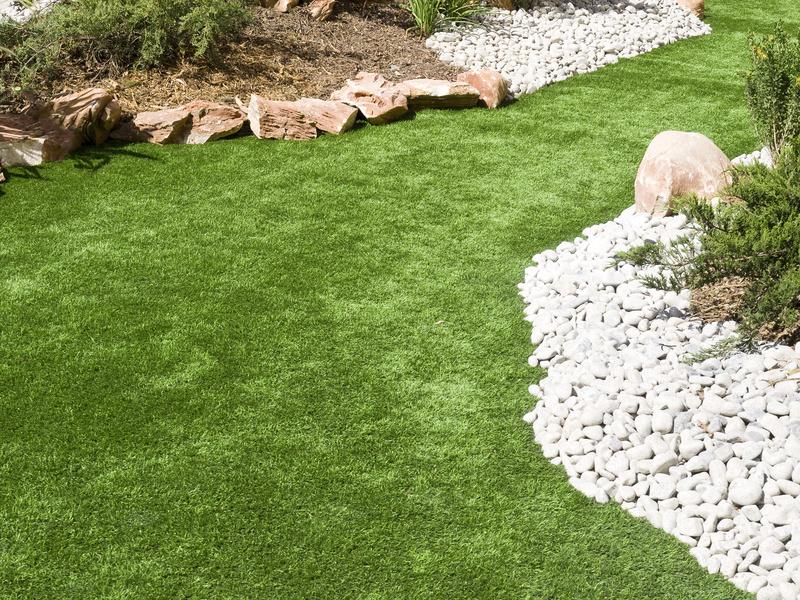 pelouse artificielle decoration