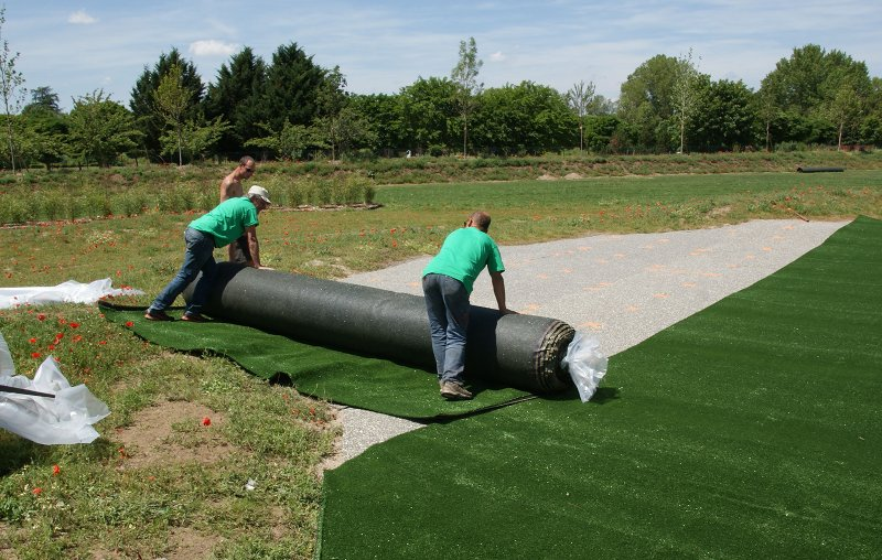 pelouse artificielle golf