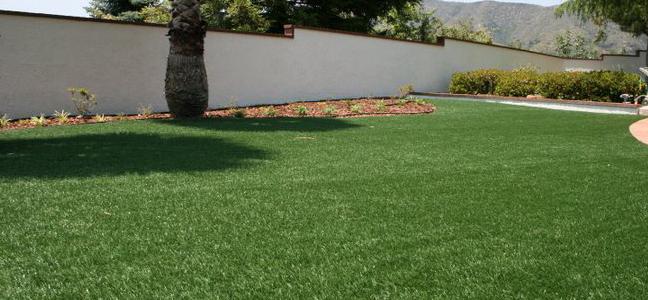 pelouse artificielle luxe