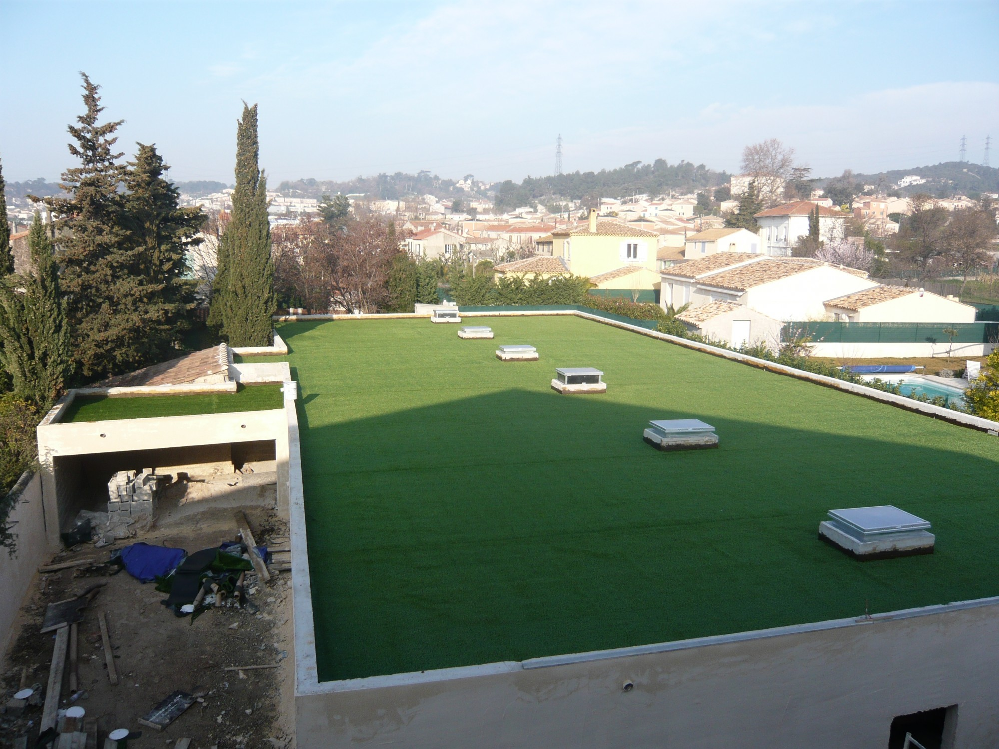 pelouse artificielle marseille