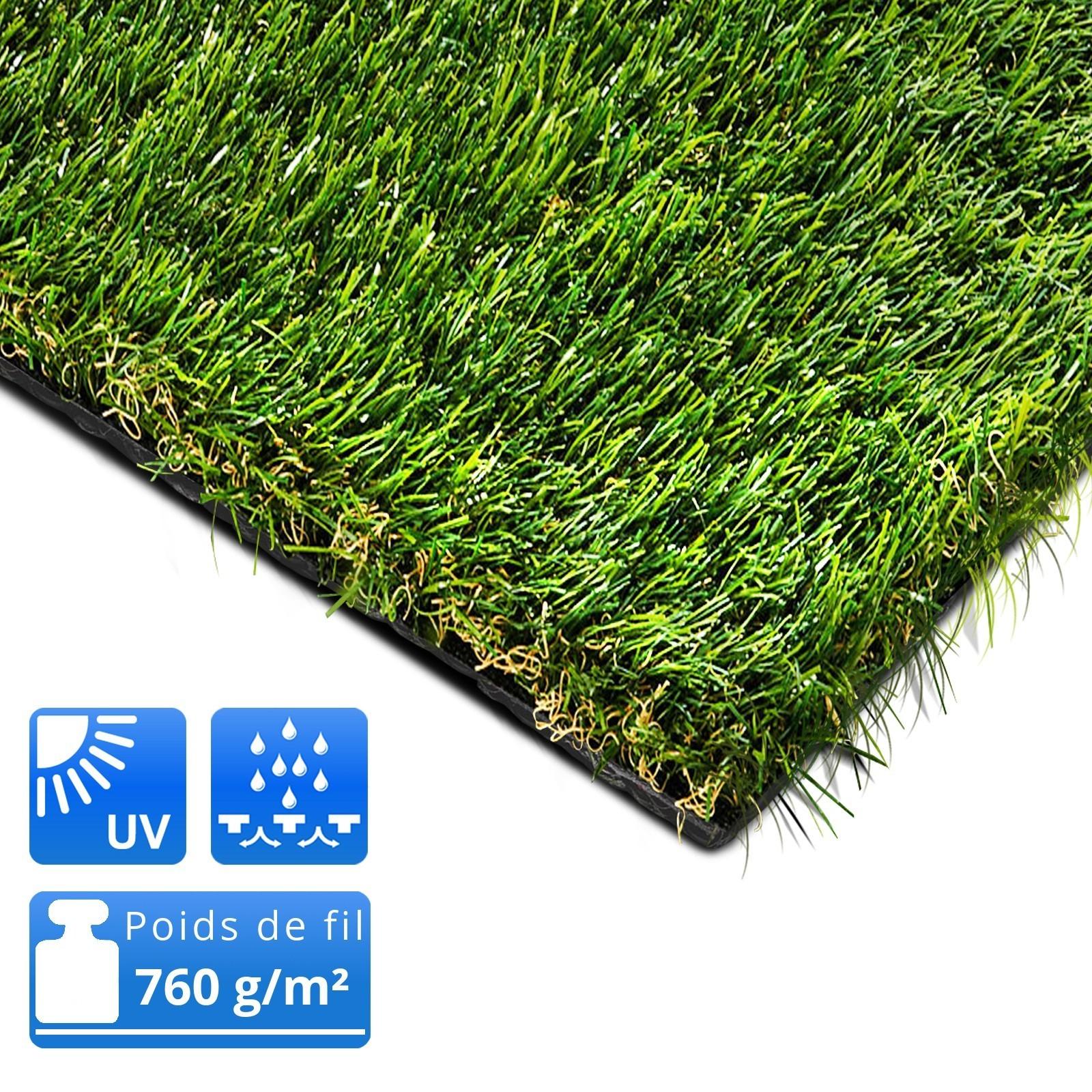 pelouse artificielle sur mesure