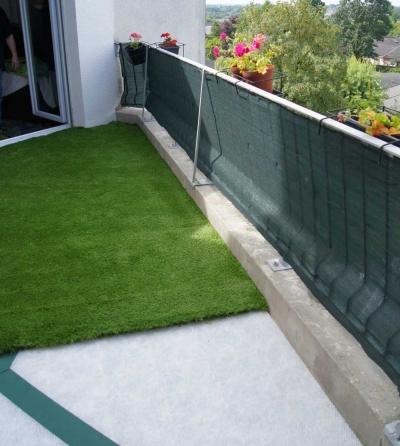 pelouse synthetique de balcon