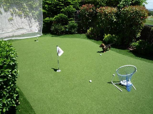 pelouse synthetique golf