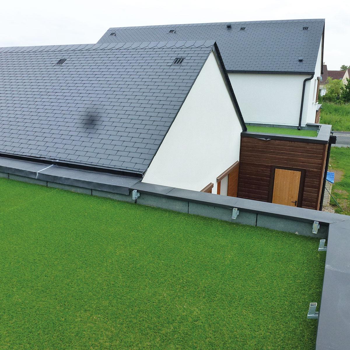 pelouse synthetique toit terrasse
